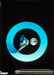 מתוך התערוכות בגלריות העירוניות בחולון: דן רייזינגר, כרזה ל iscar