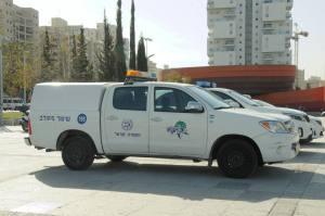שיתוף פעולה בין העירייה לבין המשטרה לטובת איכות חיי התושבים. צילום: טל קירשנבאום