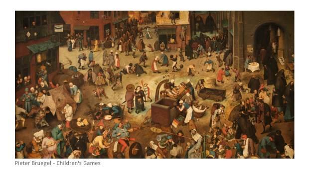 'משחקי ילדים', פיטר ברויגל האב. 1560